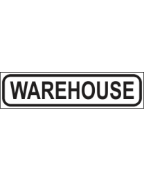 Warehouse Sign