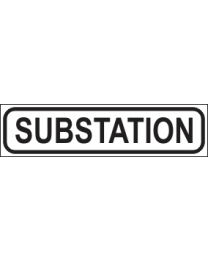 Substation Sign