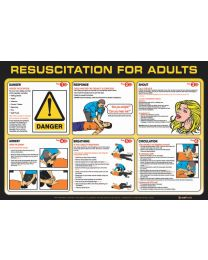 Resuscitation  for Adults Poster