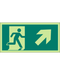 Exit (Arrow) Sign