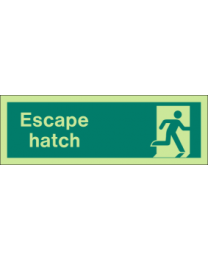 Escape Hatch Sign