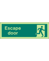 Escape Door Sign