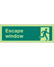 Escape Window Sign