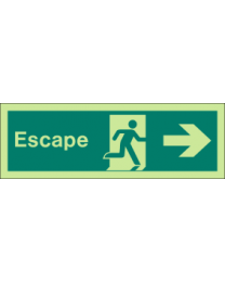 Escape (Right Arrow )Sign
