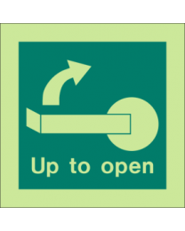 Up To Open Sign
