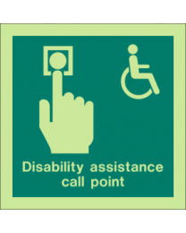Disability Assistance Call Point Sign