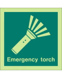 Emergency Torch Sign