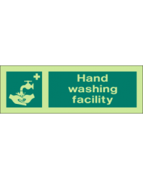 Hand Washing Facility Sign