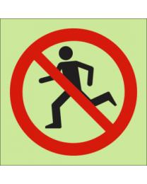 No Access IMO Sign