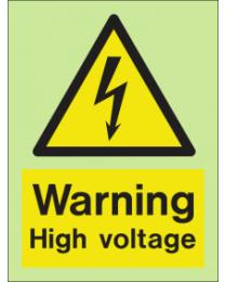 Warning-High voltage Sign