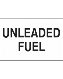 Unleaded Fuel Sign