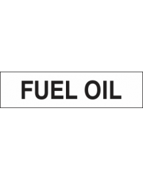 Fuel Oil Sign