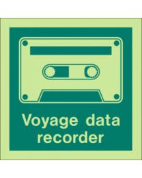Voyage data recorder sign