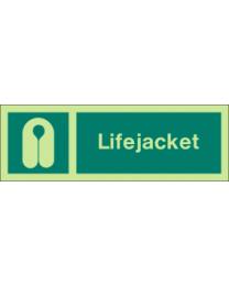 Lifejackets Sign