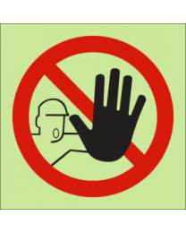 No Entry IMO Sign