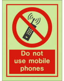 Do Not Use Mobile Phones IMO Sign
