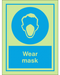 Wear Mask IMO Sign