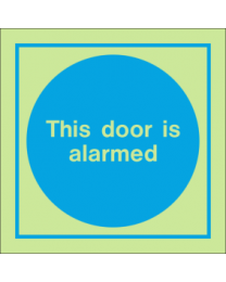 This Door Is Alarmed IMO Sign