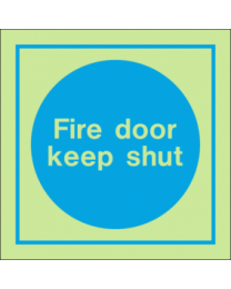 Fire Door Keep Shut IMO Sign