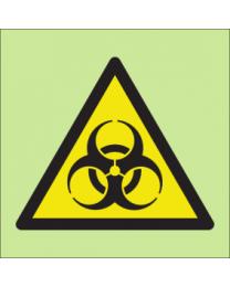 Warning bio-hazard sign