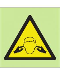 Warning noise sign