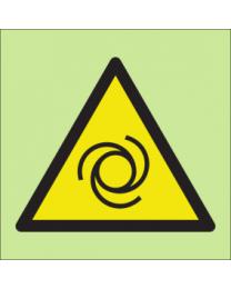 Warning-Vehicles Sign