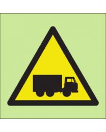 Warning vehicles sign