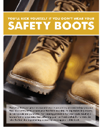 Foot Protection Poster