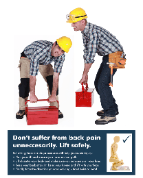 Lift Safely Poster