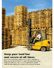 Forklift Safety Poster - II