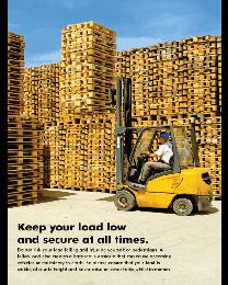 Forklift Safety Poster - II