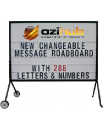 Changeable Message Road Board